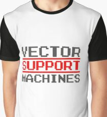 Support vector machines logo (8-bit) Graphic T-Shirt