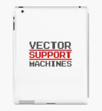 Support vector machines logo (8-bit) iPad Case/Skin
