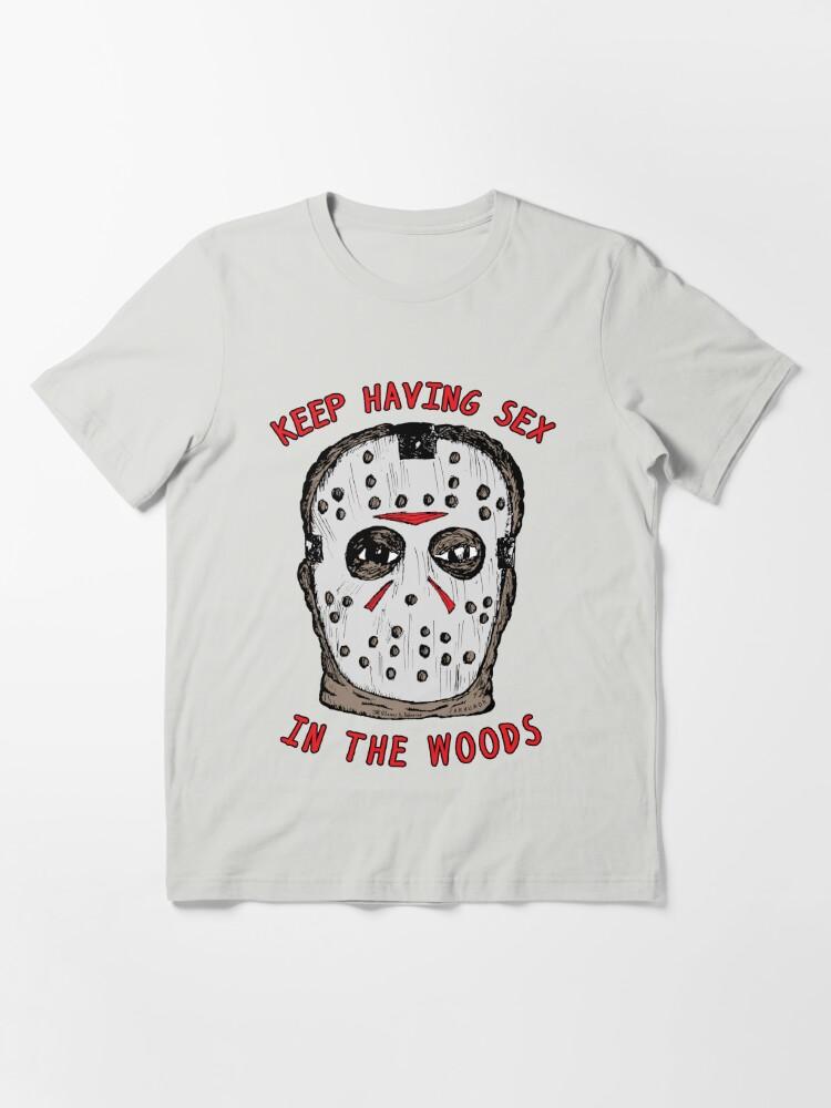 Alternate view of Keep Having Sex Essential T-Shirt