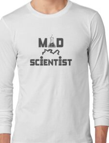Mad Scientist Electric Science Beaker Long Sleeve T-Shirt