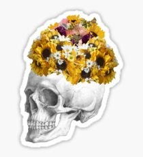 Skeletal Bouquet Sticker