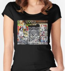 Spray Can Man Women's Fitted Scoop T-Shirt