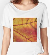 Leaf texture Women's Relaxed Fit T-Shirt