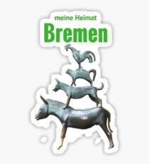 My home Bremen Sticker