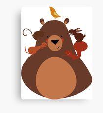 ANIMAL BEAR Canvas Print