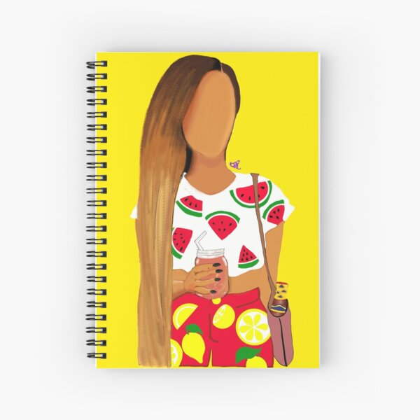 Watermelon, Lemonade, Flexin' like Beyonslay Spiral Notebook