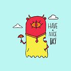 Have a Nice Day Illustration by Jess Emery