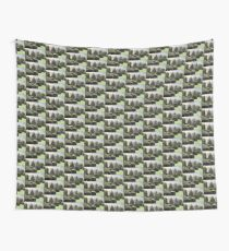 Dawn In A Topiary Garden Wall Tapestry