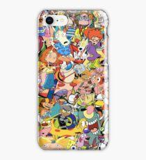 Childhood Cartoons iPhone Case/Skin
