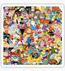 Childhood Cartoons Sticker