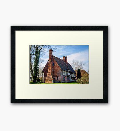The Cloth Hall Framed Print