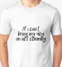 Dog lovers Unisex T-Shirt