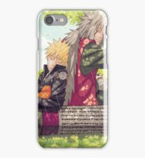 Naruto and Jiraya ( Sensei and Student )  iPhone Case/Skin