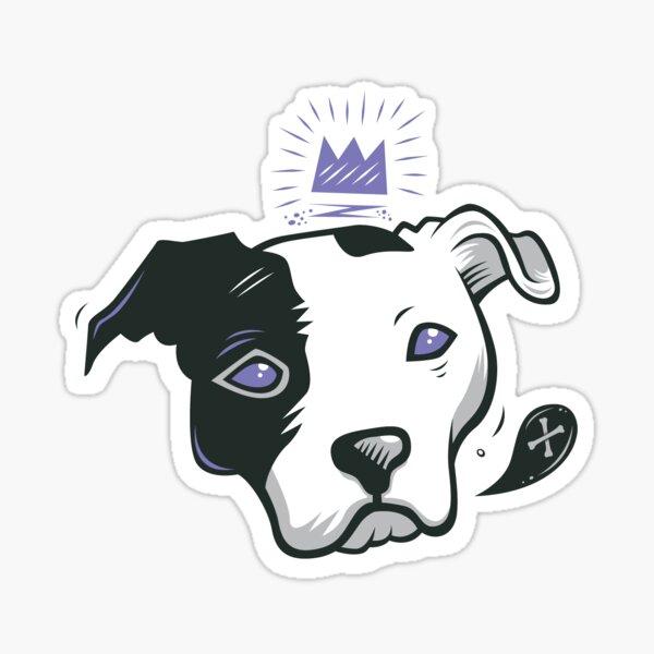 Pitbull King Sticker