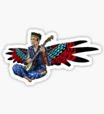 Sufjan (with wings) Sticker