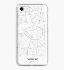 Dortmund Minimalist Map iPhone Case/Skin