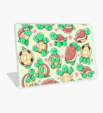 Adorable turtle pattern all over Laptop Skin