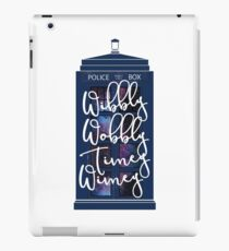 Doctor Who - Wibbly Wobbly Timey Wimey iPad Case/Skin