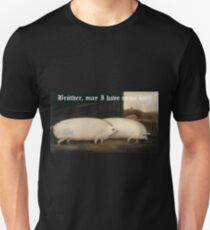 Brother, may I have some Oats? Pig Meme Unisex T-Shirt