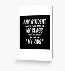 My Kids Greeting Card