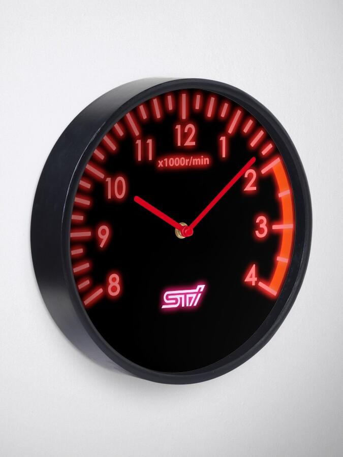 Alternate view of STI Tachometer Clock Clock