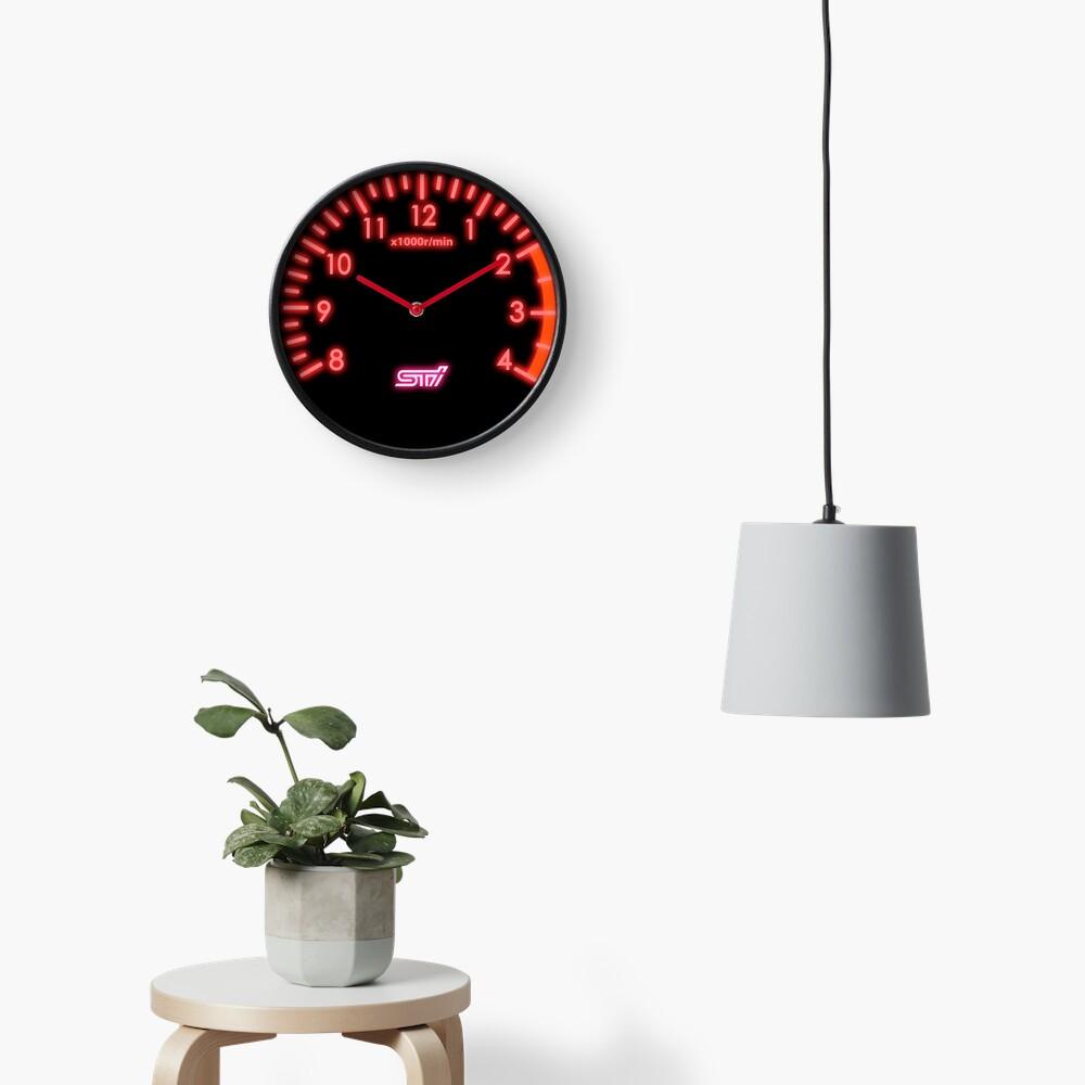 STI Tachometer Clock Clock