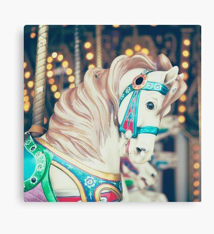 Pauly Carousel Horse Canvas Print