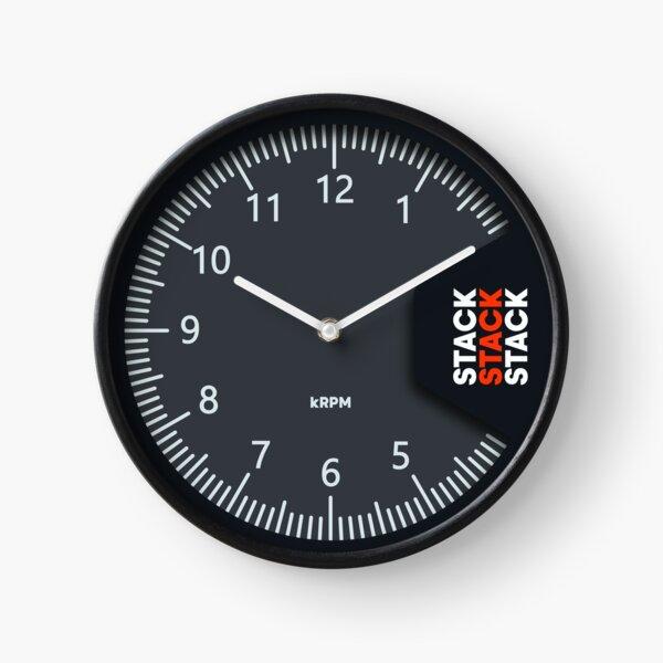 STACK Tachometer Clock Clock