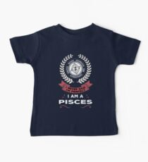 Pisces Zodiac Sign Baby Tee