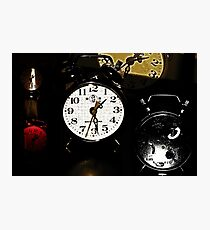 Running Out Of Time !? Photographic Print