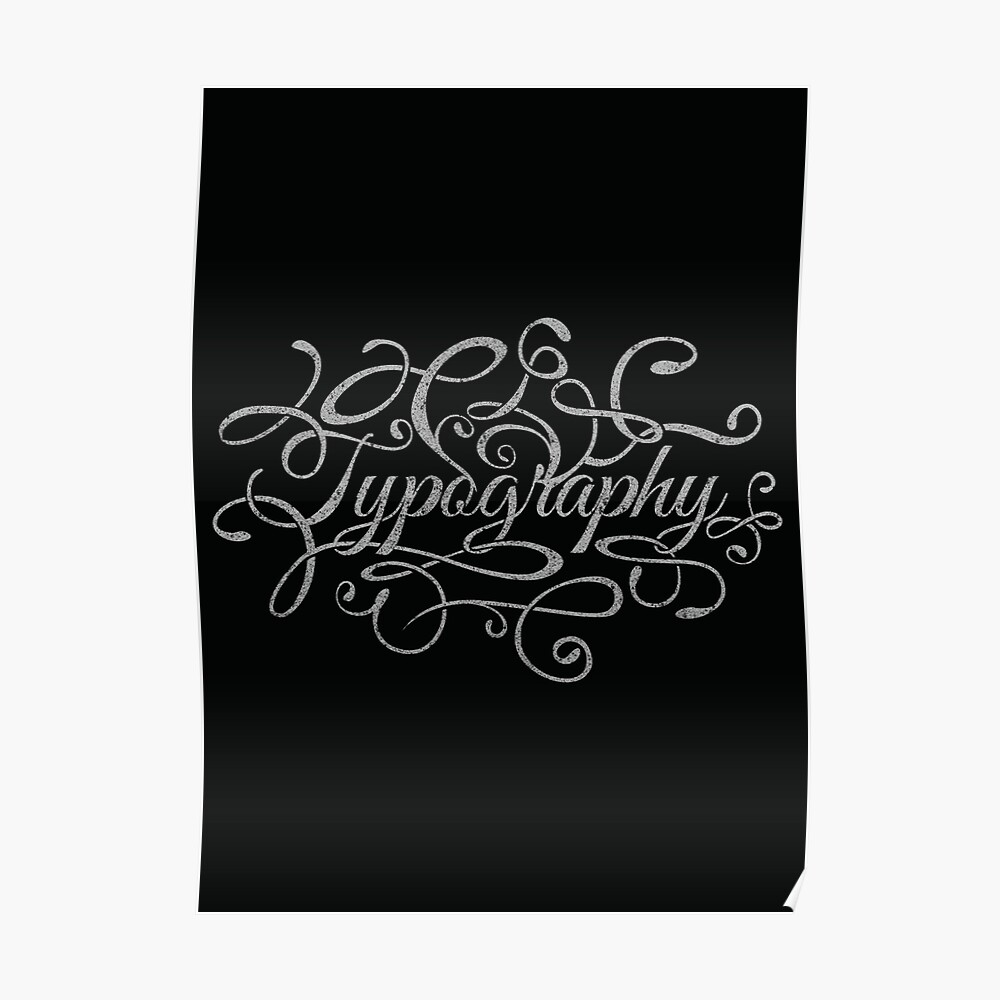 Typography on Typography Poster