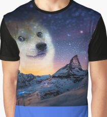 Doge sky Graphic T-Shirt
