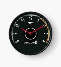 Mustang Tachometer Clock Clock