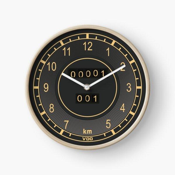 Mercedes Classic Speedometer Clock Clock