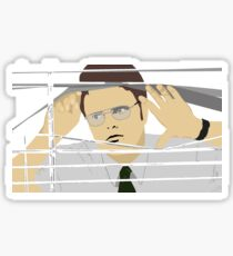 Dwight Schrute Workspace Sticker