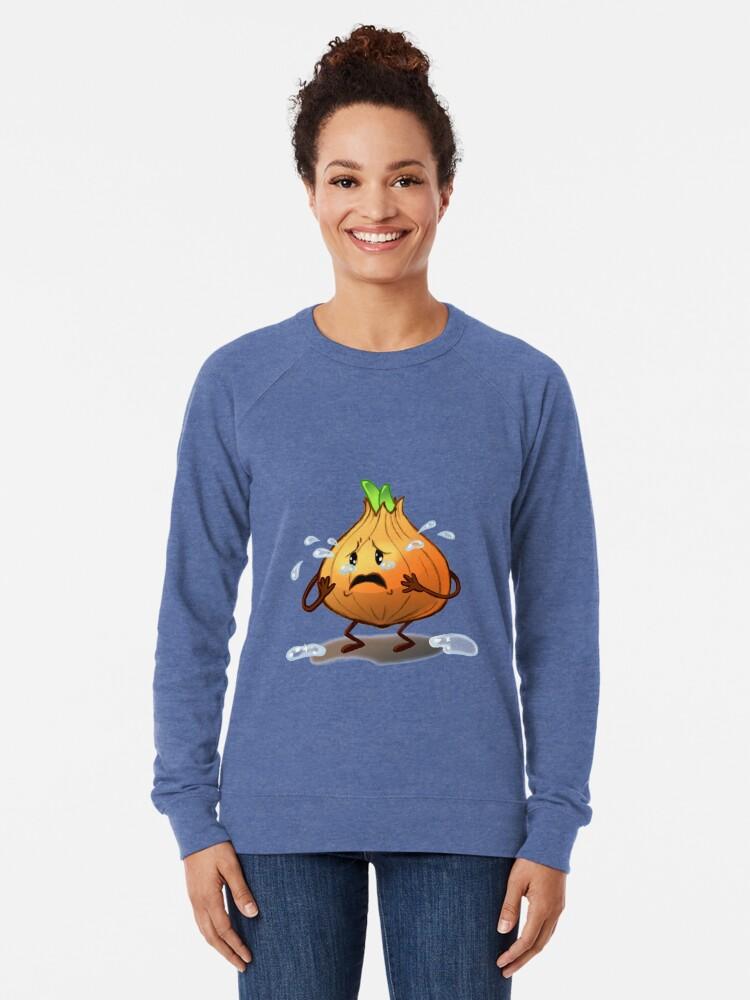 Alternate view of Crying Onion Lightweight Sweatshirt