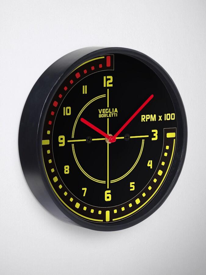 Alternate view of Lancia Delta Tachometer Clock Clock