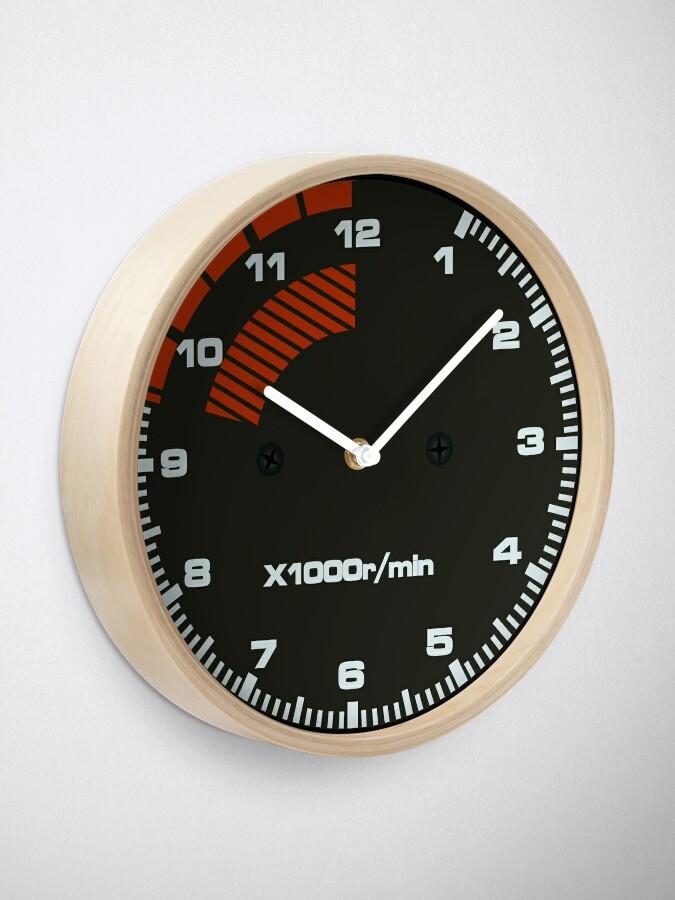 Alternate view of Type R Tachometer Clock Clock
