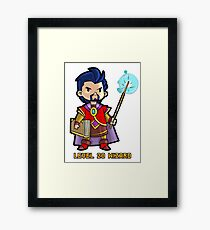 Level 20 Wizard Framed Print