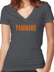 Paninaro Women's Fitted V-Neck T-Shirt