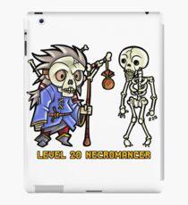 Level 20 Necromancer iPad Case/Skin