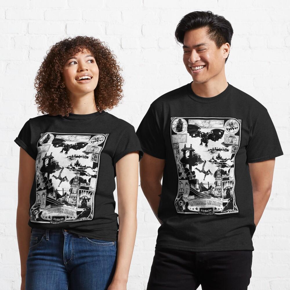 BIOSHOCK INFINITE CITY IN THE SKY bw Classic T-Shirt