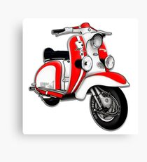 TV 175 Series 1 Mod style racer. Canvas Print