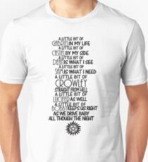 A Little Bit of SPN - Dark Unisex T-Shirt