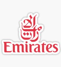 Emirates Airlines Sticker