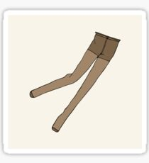 Beige pantyhose Sticker