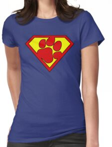 The Last Pup Of Krypton  Womens Fitted T-Shirt