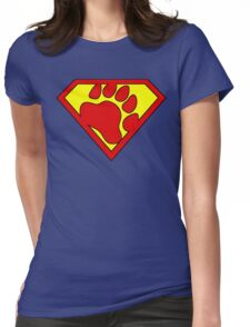 The Last Bear Of Krypton  Womens Fitted T-Shirt