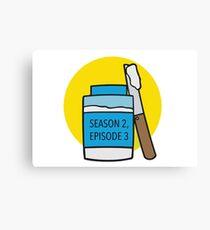 Season 2, Episode 3 Canvas Print