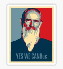 YES WE CANBus Sticker